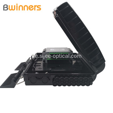 IP65 Indoor Outdoor 16Core 16Ports Ftth Glasfaserverteilerkasten Access Terminal Box